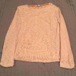 Sweater with design